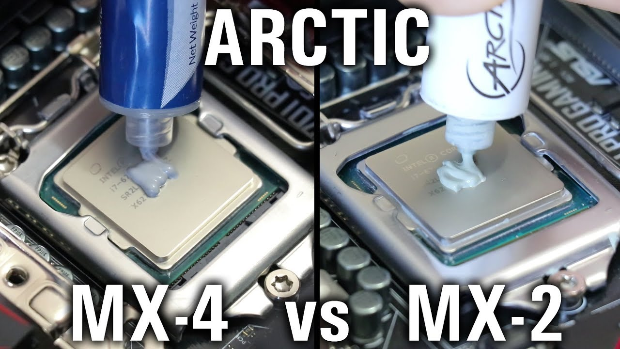 Arctic MX4 Termal Macun Değişimi + Sistem Temizleme!