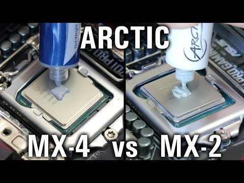 Arctic MX-4 vs MX-2... What's the difference?