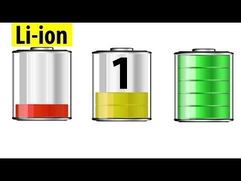 Правила эксплуатации литий ионных аккумуляторов. Часть 1.
