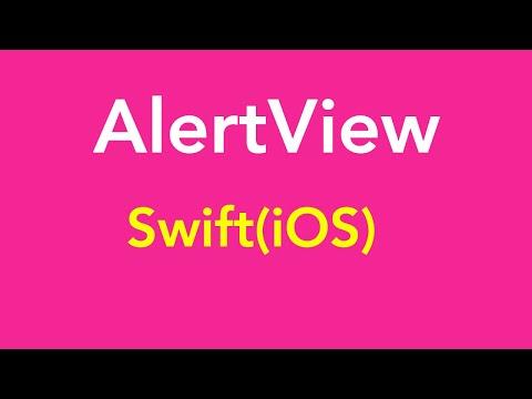 iOS (Swift Language) : AlertView in iOS Swift | iOS Apps Development thumbnail