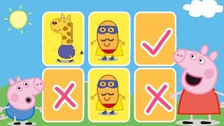 Peppa Pig - Surprise Puzzles! Learn Shapes for Kids - Learning with Peppa Pig thumbnail