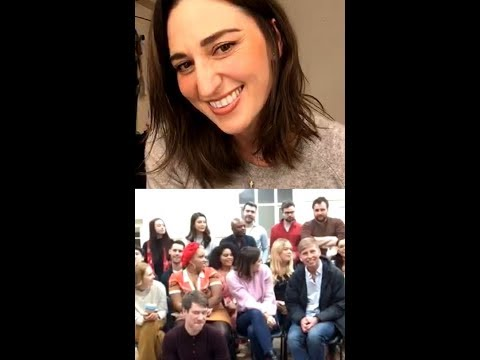 Sara Bareilles Instagram Live - 1/7/2019 with Waitress West End Cast Mp3