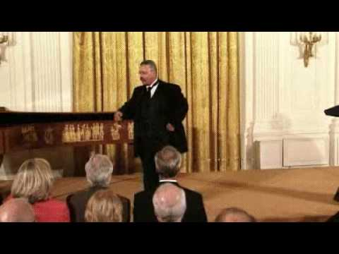 Part 1: Joe Wiegand as Theodore Roosevelt, the White House East Room