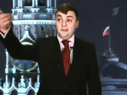 Смотреть Новогоднее поздравление Медведева и Путина онлайн