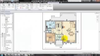 Revit Architecture - Lekcja 15 - Powierzchnie pomieszczeń