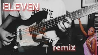Eleven Remix by Khalid ft. Summer Walker (Bass Cover)