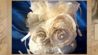 Свадебная сумочка Gilliann Роза цвета Айвори BAG284