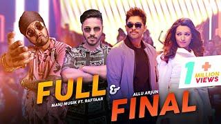 Full And Final | Manj Musik FT.Raftaar | new rap song | Raftaar new song 2020 | Raftaar music series