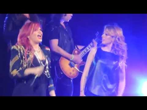 Demi Lovato & Cher Lloyd - Really Don't Care LIVE HD 3/27/14 in Cleveland