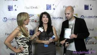 Holly Anderson and iCizzle at the 2nd Annual New Media Film