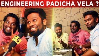 Hiphop Tamizha #Maanavan Team Interview | Engineering Padicha Vela Kedaikuma ? | NPA 05