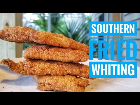 Southern Fried Whiting | How To Make Fried Fish At Home