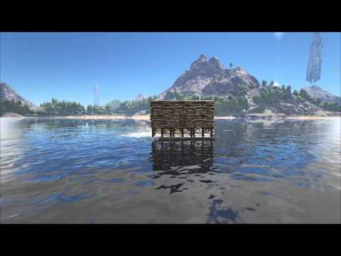 how to build a base on a raft in ark