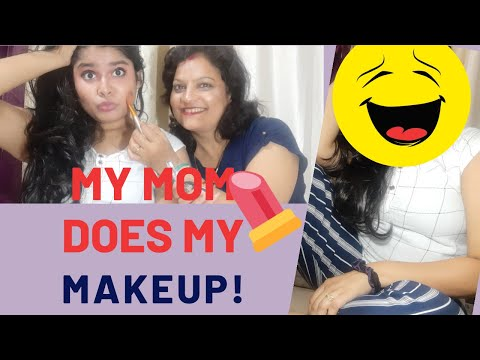 My MOM Does My Makeup ||#momdoesmymakeup | #mom&daughter || #minisoindia Review ||#ThursdayTadka