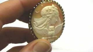 Antique Cameo Brooch Pin eBay Item Review