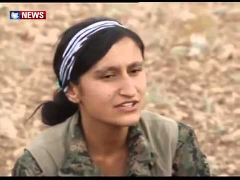 PKK and YGK on August 3rd 2014 by Yezidis Organization