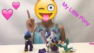 Лена и новые пони распаковка прямой эфир My Little Pony  toys lena online