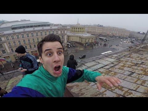 Epic skills tutorial ON the ROOF - Обучение финтам