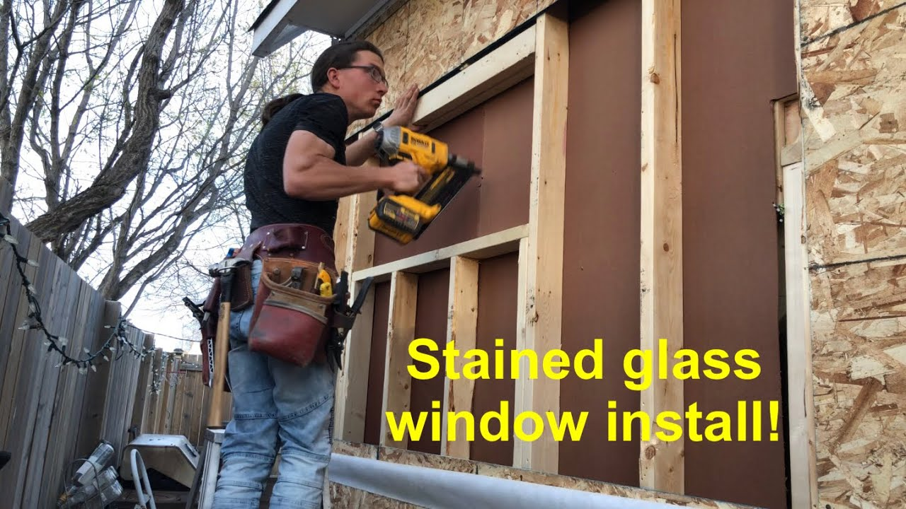 How To Cut In A Window On An Existing Wall You