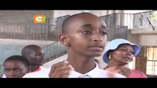 Mvulana bora kwenye mtihani wa KCPE aonekana kwa mara ya kwanza