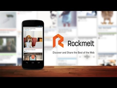 RockMelt For Android App Review - Best of The Web & News