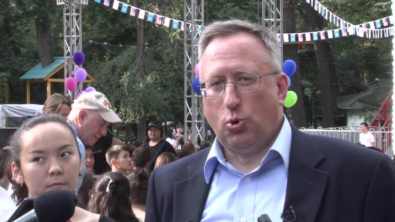 Джордж Крол, посол США в Казахстане