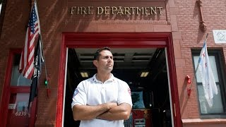 Chicago firefighter talks about his career