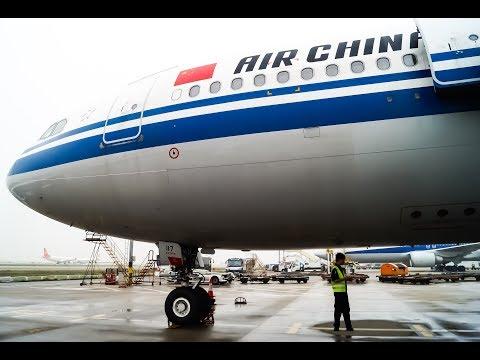 TRIPREPORT (Economy)    Air China CA936   Frankfurt - Shanghai   A330-200  B-6117