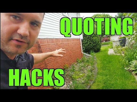 $3,480 Landscaping Garden Beds Demolition | How I Use YouTube To Document Quotes | $1,500 DAY RATE