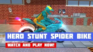 Hero Stunt Spider Bike Simulator 3D · Game · Gameplay