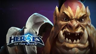 ♥ Heroes of the Storm (A-Z Gameplay) Legs (HoTs Quick Match)