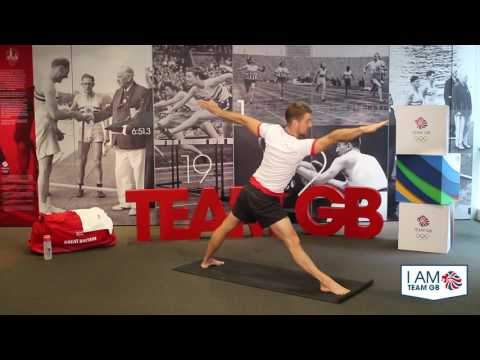 I am Team GB - yoga workout with Leon Taylor