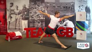 Yoga #1 with Leon Taylor | I Am Team GB