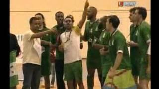 تتويج الاهلي الليبي للكرة الطائرة اول بطولة بعد التحرير 2012