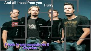 Nickelback - Savin me.Subt.Ing-Esp.