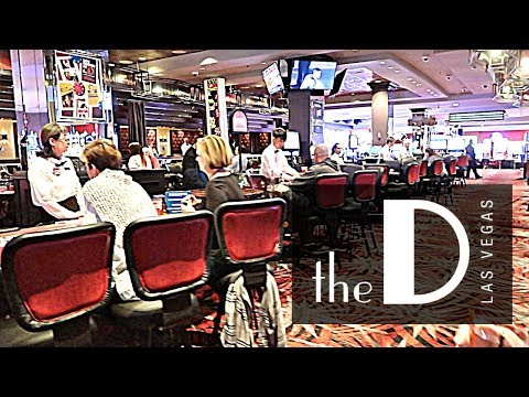 Exploring The D Hotel Casino On Fremont Street 2018 Youtube