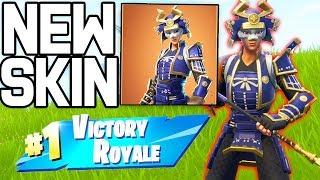 NEW SKIN 'HIMÉ' ON FORTNITE BATTLE ROYALE!