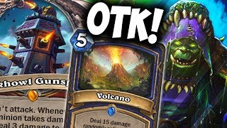 BLACKHOWL GUNSPIRE + VOLCANO = COMBO | SHUDDERWOCK | THE WITCHWOOD | HEARTHSTONE | DISGUISED TOAST