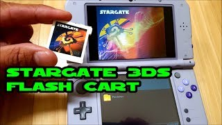 3DS Stargate Flash Cart setup and review