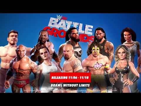 New Legends And Superstars Now Available in WWE 2K Battlegrounds!