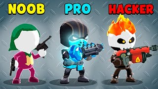 NOOB vs PRO vs HACKER - Johnny Trigger