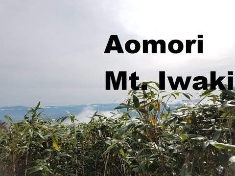 A trip to Aomori prefecture and a hike up Mt. Iwaki