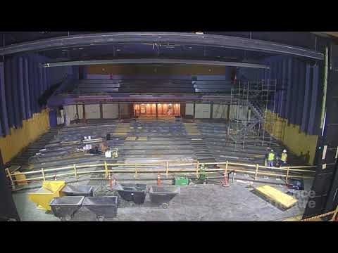 Alliance Theatre Renovation Timelapse - First 3 Months