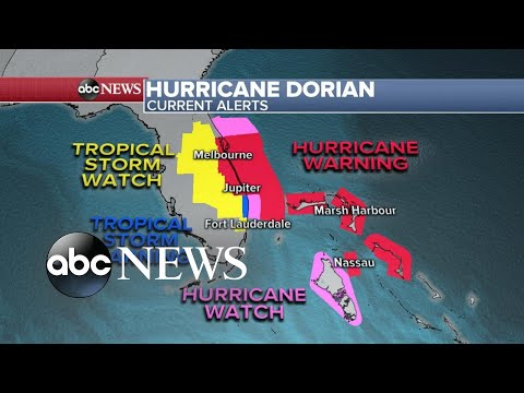 Hurricane warnings issued across Florida
