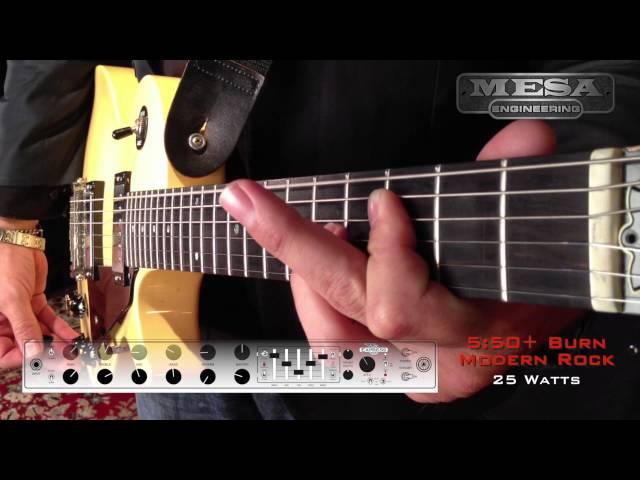 MESA/Boogie Express 5:50+ Ch. 2 BURN – Modern Rock