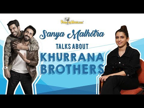 Sanya talks about working with Khurrana brothers Mp3