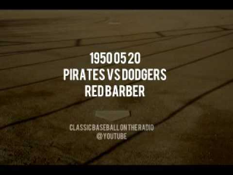 1950 05 20 Pirates vs Dodgers Broadcast by Red Barber OTR