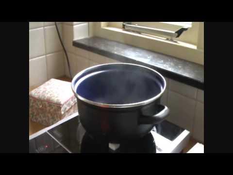 inductie koken op suikerklontjes