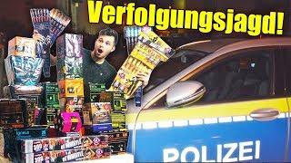 OMG!! 1000€ Silvester Feuerwerk zünden GEHT SCHIEF! POLIZEI KOMMT!!! 😱