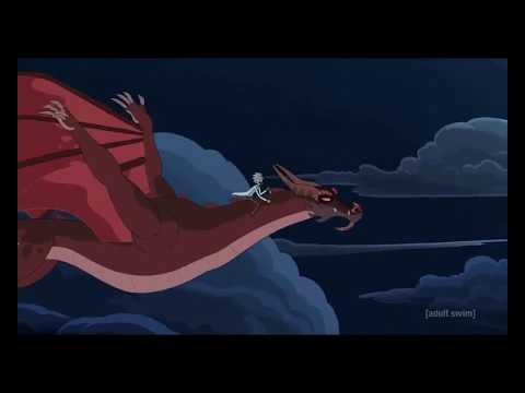 Рик изменяет с драконом Морти. Рик и Морти 4 сезон.